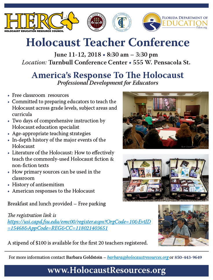 Holocaust Teacher Conference