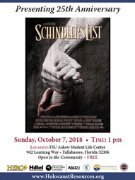 Schindler's List 25th Anniversary Screening