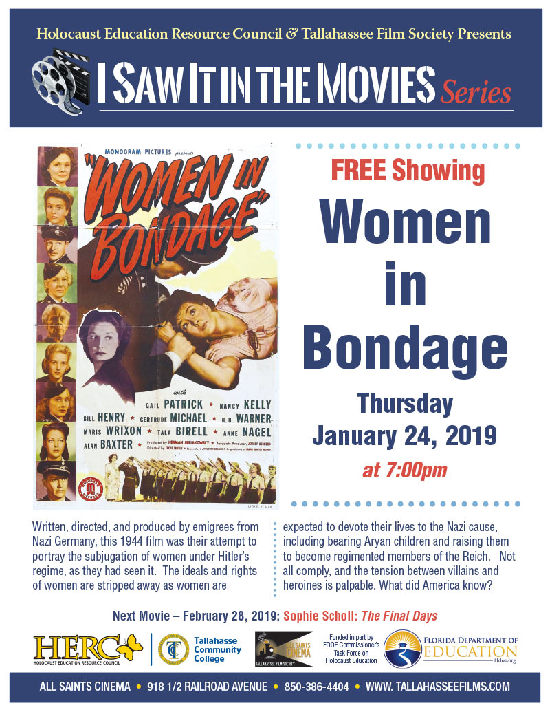 Women in Bondage – I Saw it in the Movies Series